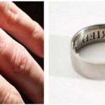 Já conhece o anel anti-traição ? Será que resulta ?